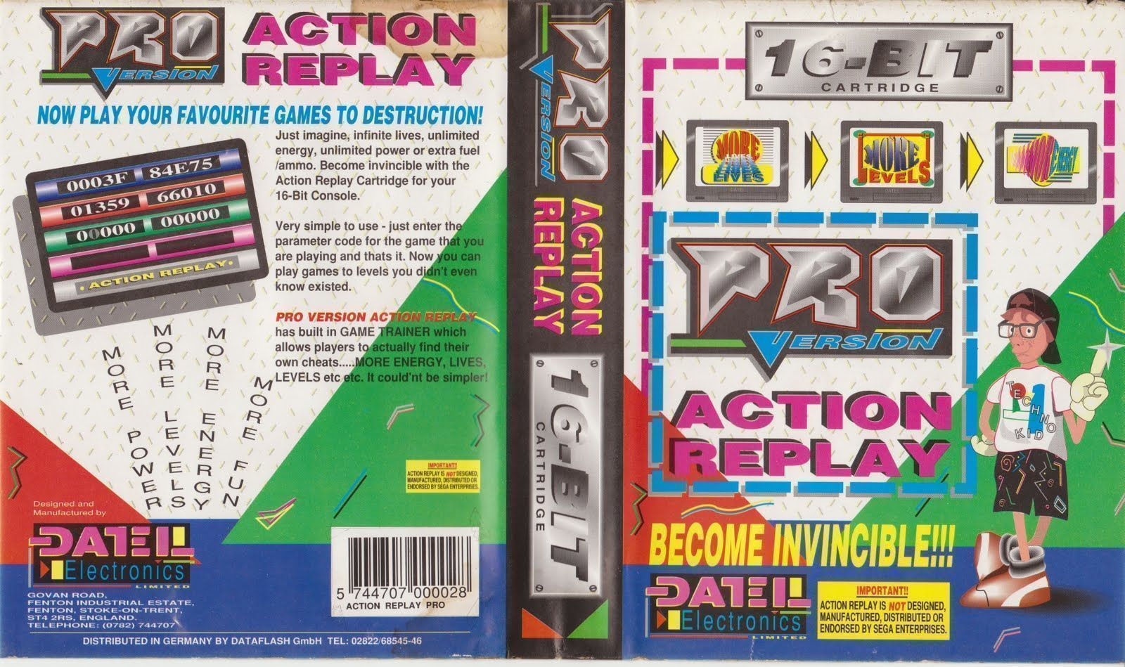 Rom juego Pro Action Replay (JUE) [c]