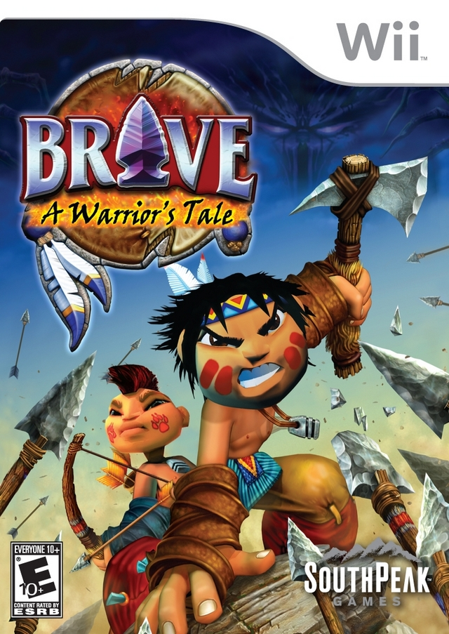 Rom juego Brave - A Warrior's Tale