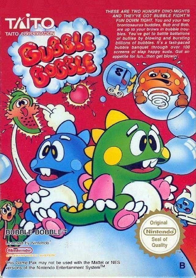 Rom juego Bubble Bobble
