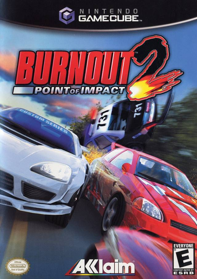 Rom juego Burnout 2 Point Of Impact