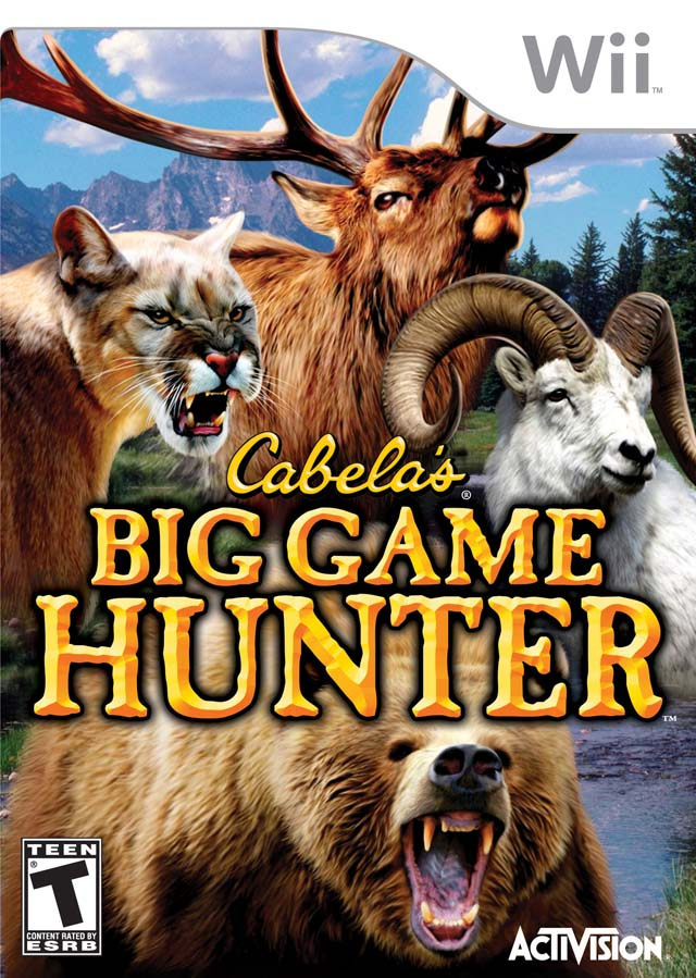 Rom juego Cabela's Big Game Hunter