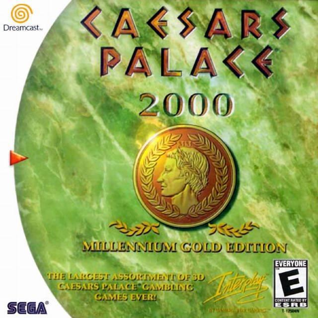 Rom juego Caesars Palace Millennium Gold Edition