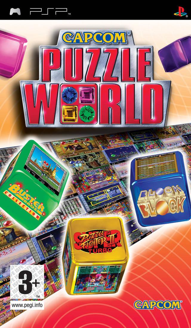 Rom juego Capcom Puzzle World