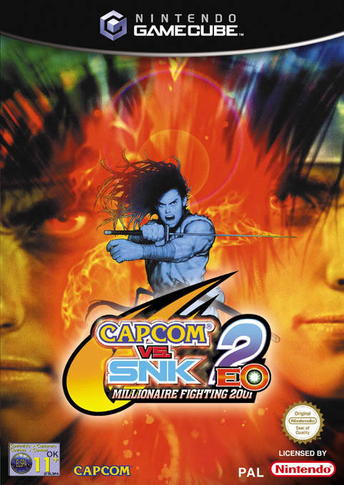 Rom juego Capcom Vs. SNK 2 EO Millionaire Fighting 2001