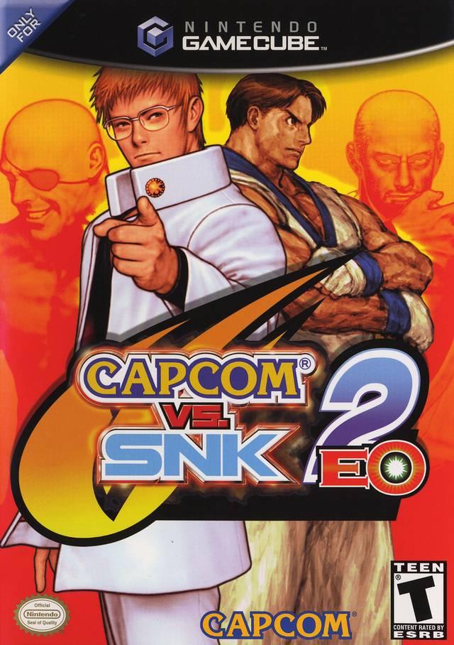 Rom juego Capcom Vs. SNK 2 EO