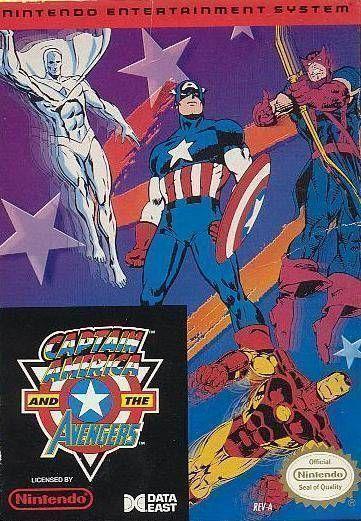 Rom juego Captain American