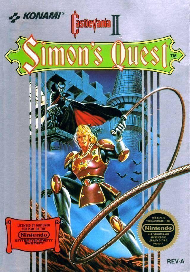 Rom juego Castlevania 2 - Simon's Quest