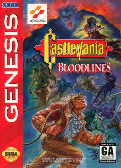 Rom juego Castlevania - Bloodlines