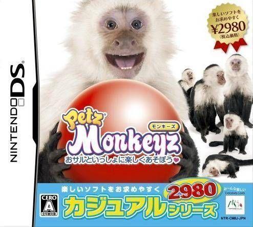 Rom juego Petz - Monkeyz - Osaru To Issho Ni Tanoshiku Asobou