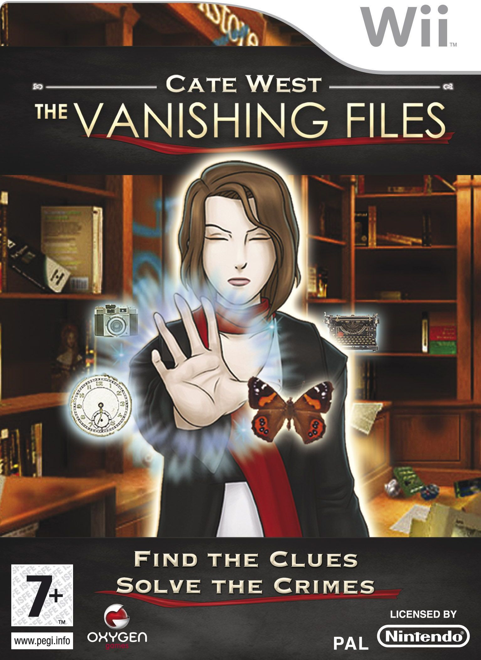 Rom juego Cate West- The Vanishing Files