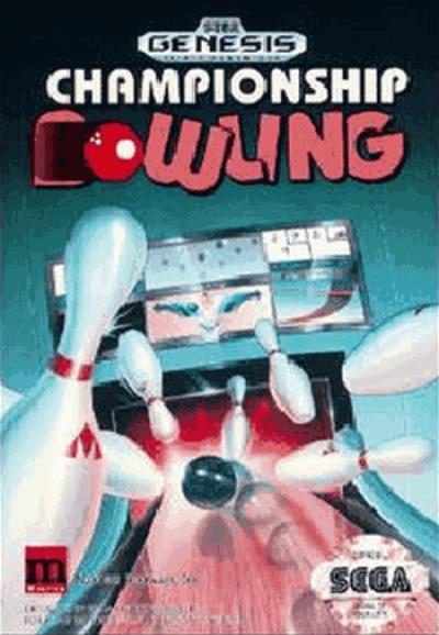 Rom juego Championship Bowling