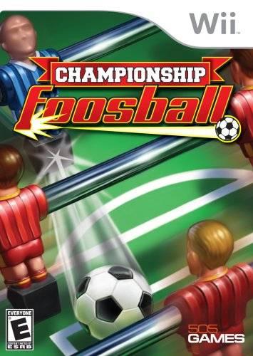 Rom juego Championship Foosball