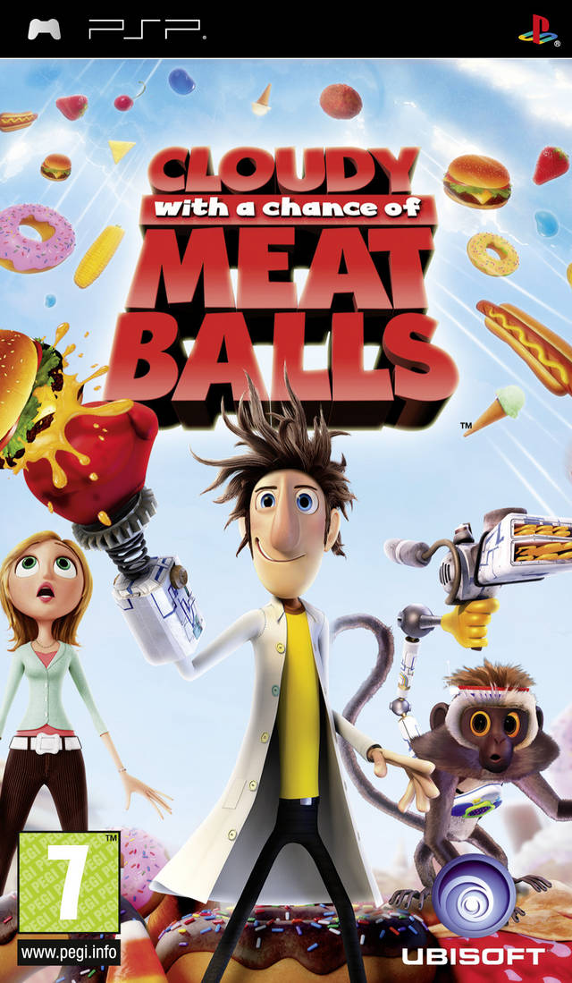 Rom juego Cloudy With A Chance Of Meatballs