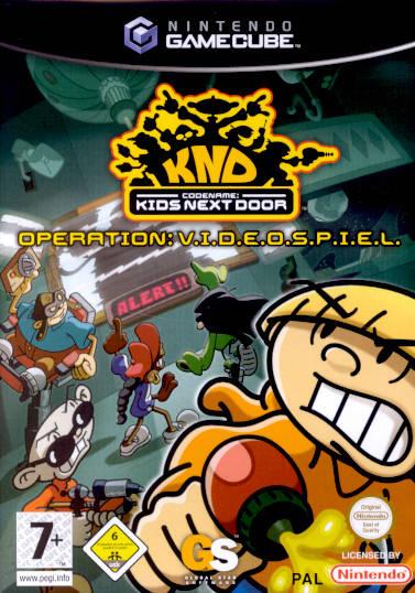 Rom juego Codename Kids Next Door Operation V.I.D.E.O.G.A.M.E.