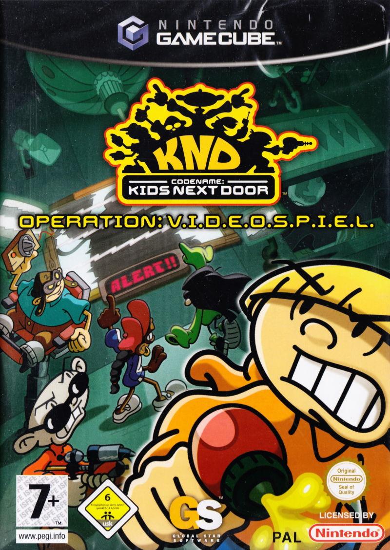Rom juego Codename Kids Next Door Operation V.I.D.E.O.S.P.I.E.L.