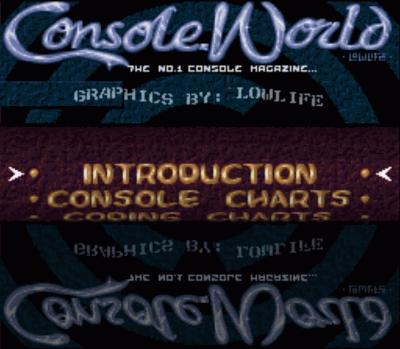 Rom juego Console World - Feb. '94 Charts