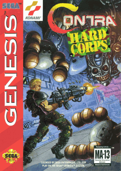 Rom juego Contra - Hard Corps