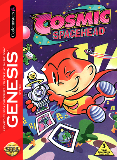 Rom juego Cosmic Spacehead