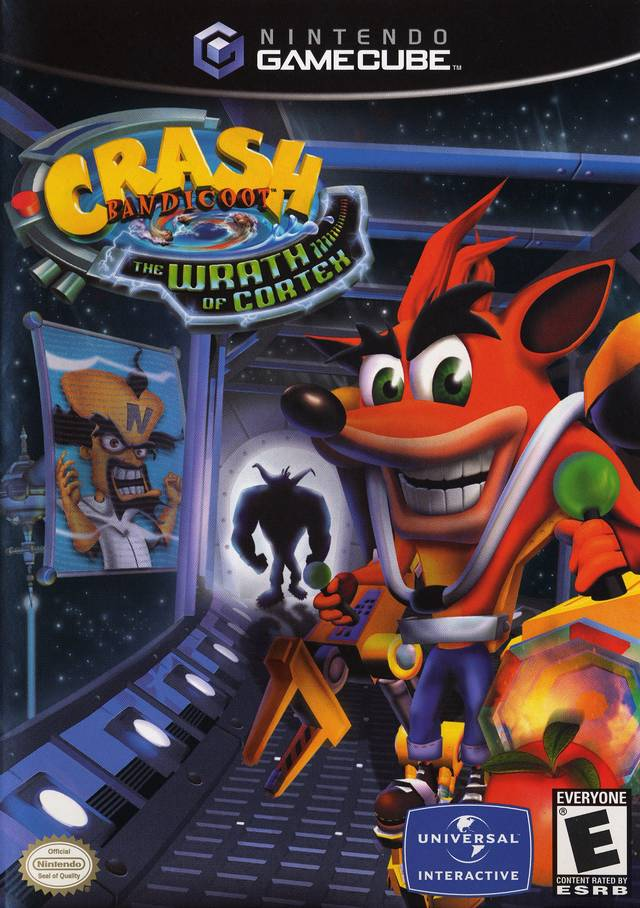 Rom juego Crash Bandicoot The Wrath Of Cortex