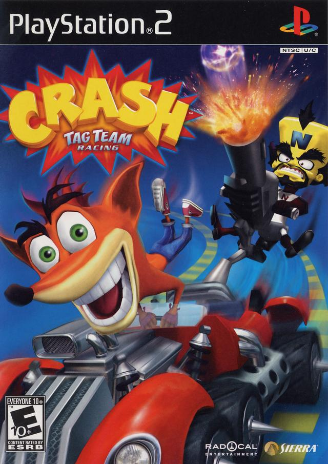 Rom juego Crash Tag Team Racing
