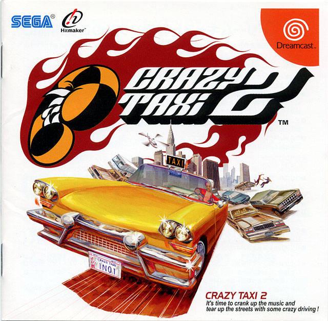Rom juego Crazy Taxi 2