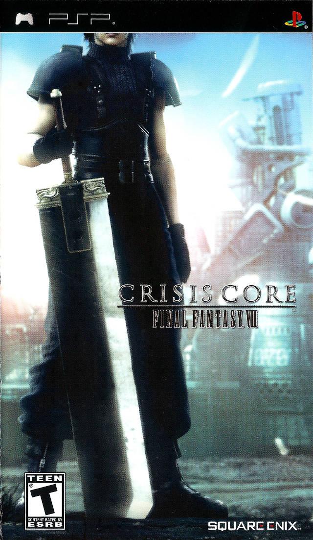 Rom juego Crisis Core - Final Fantasy VII
