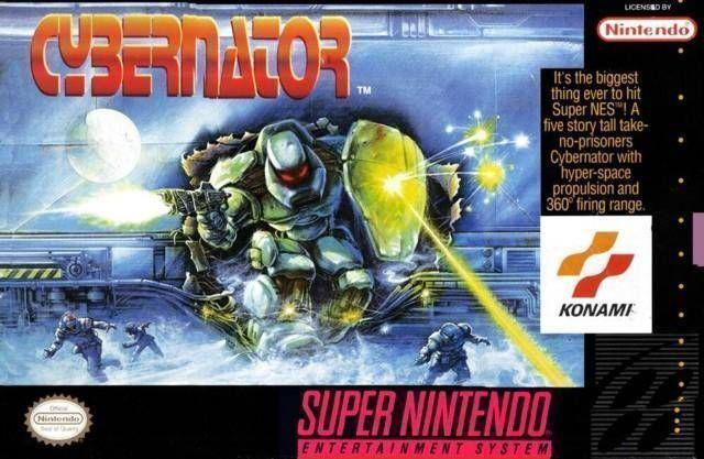 Rom juego Cybernator