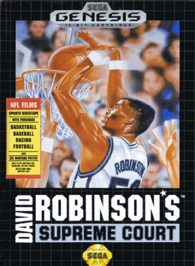 Rom juego David Robinson's Supreme Court