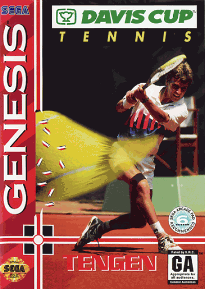 Rom juego Davis Cup World Tour Tennis (UJE) (Jul 1993)