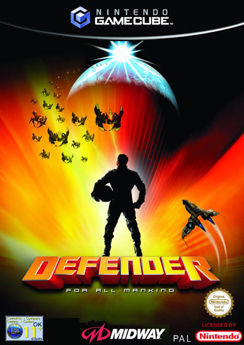 Rom juego Defender For All Mankind
