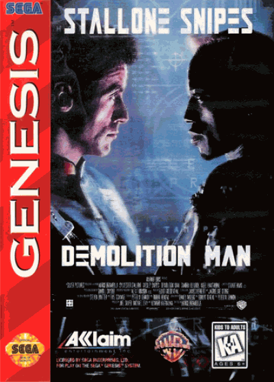 Rom juego Demolition Man
