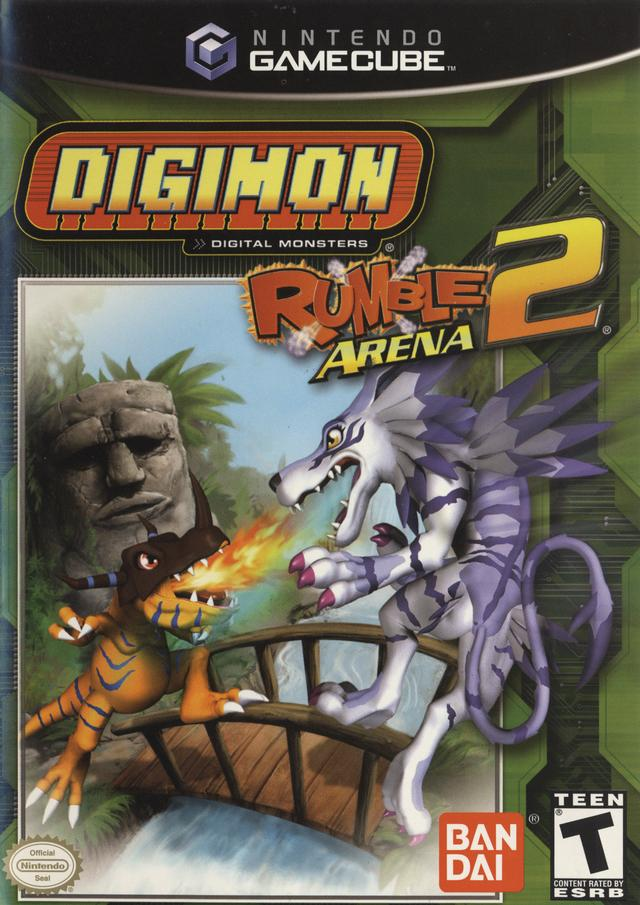 Rom juego Digimon Rumble Arena 2