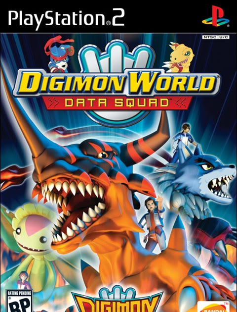 Rom juego Digimon World - Data Squad