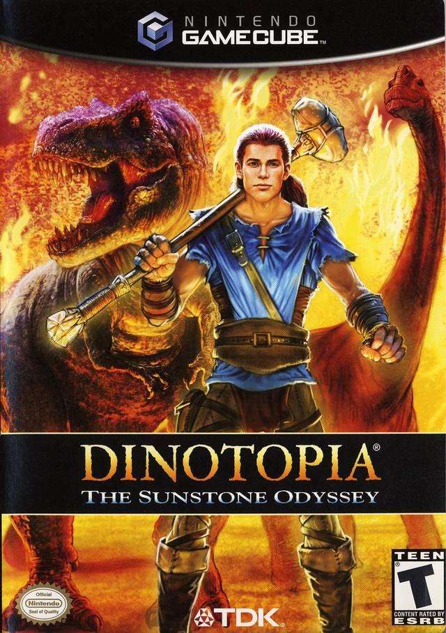 Rom juego Dinotopia The Sunstone Odyssey
