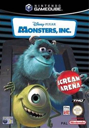 Rom juego Disney Pixar Monsters Inc. Scream Arena