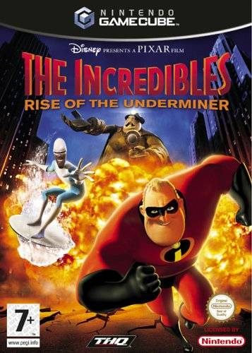 Rom juego Disney Pixar The Incredibles Rise Of The Underminer