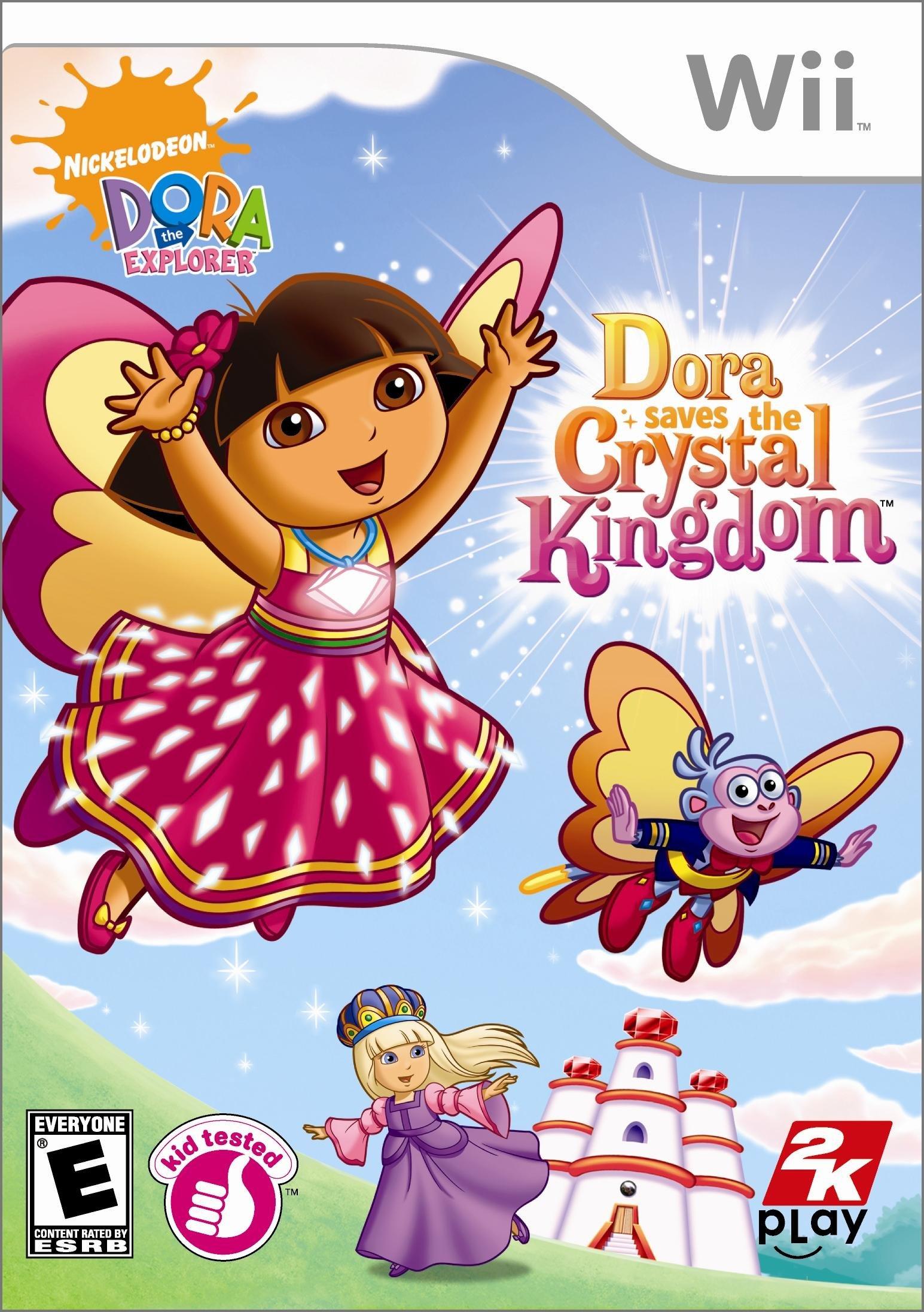 Rom juego Dora Saves The Crystal Kingdom