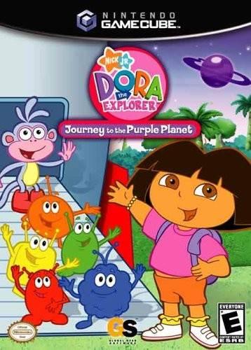 Rom juego Dora The Explorer Journey To The Purple Planet