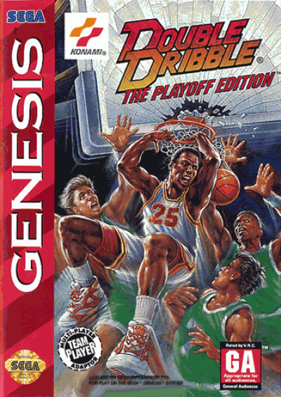 Rom juego Double Dribble - Playoff Edition