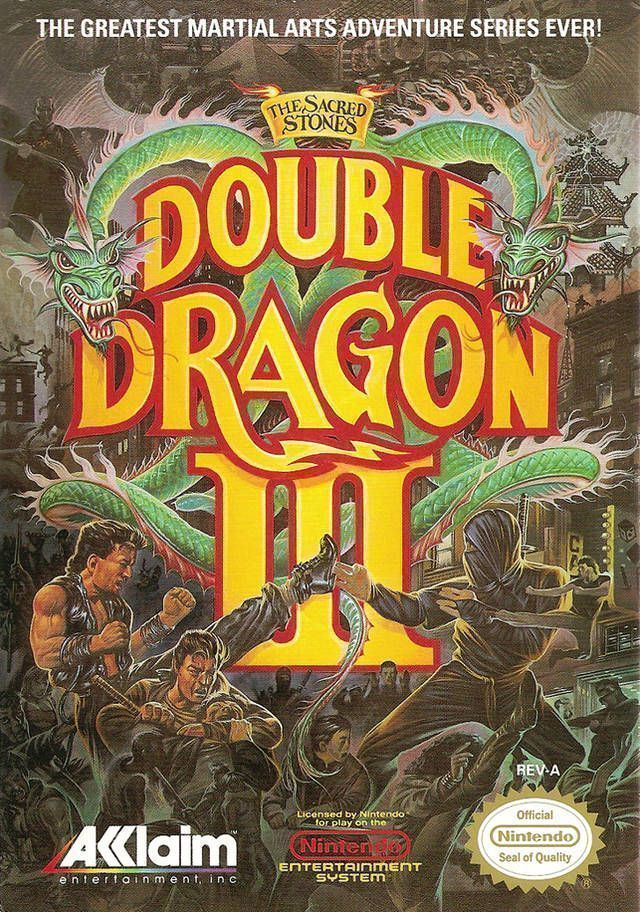 Rom juego Double Dragon 3 - The Sacred Stones