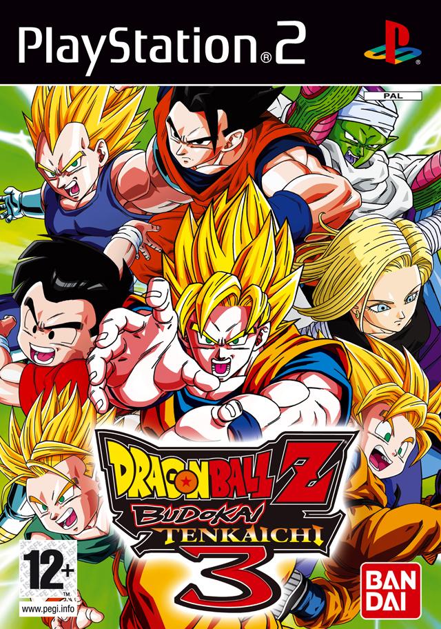 Rom juego Dragon Ball Z - Budokai Tenkaichi 3