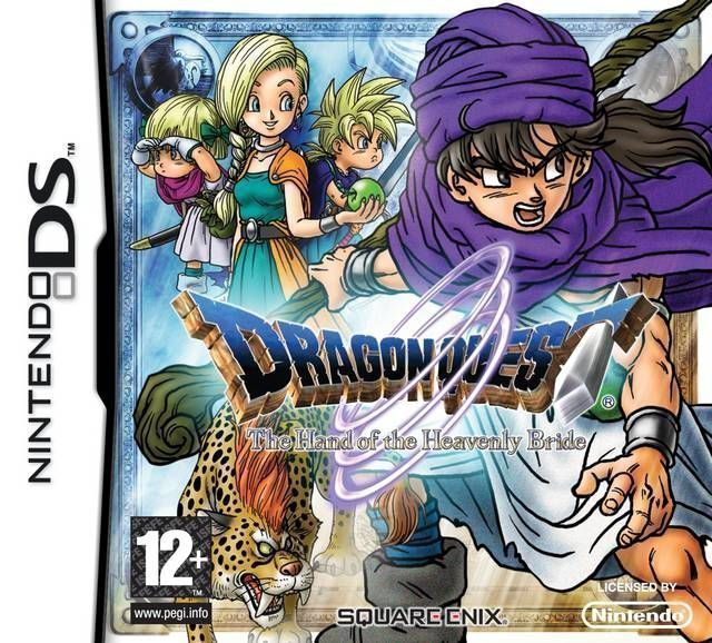 Rom juego Dragon Quest - The Hand Of The Heavenly Bride