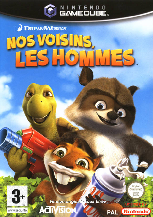 Rom juego DreamWorks Over The Hedge