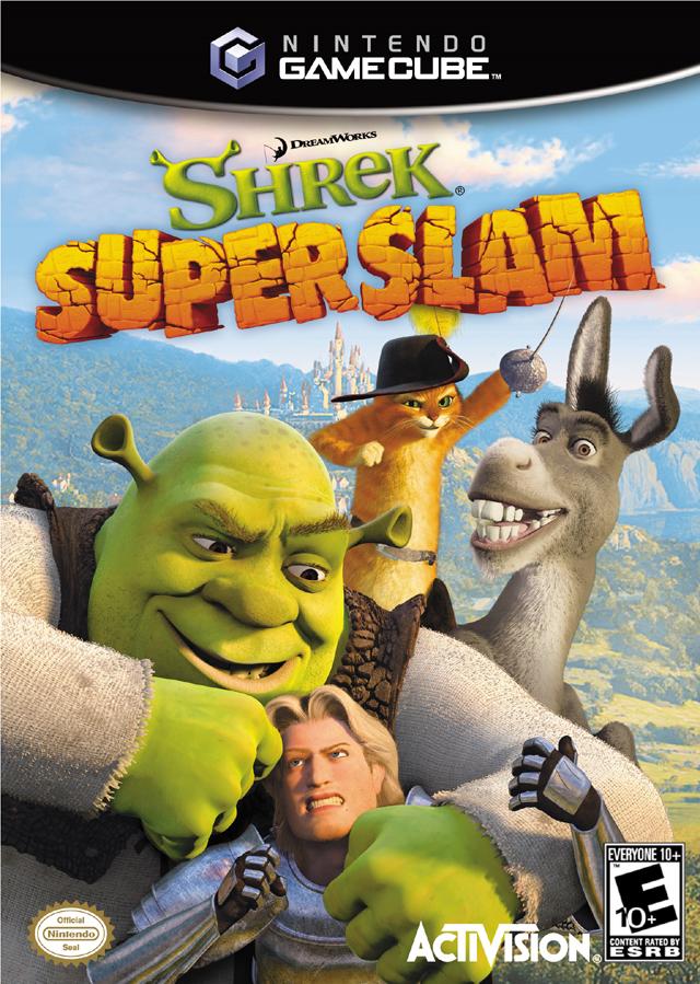 Rom juego DreamWorks Shrek SuperSlam