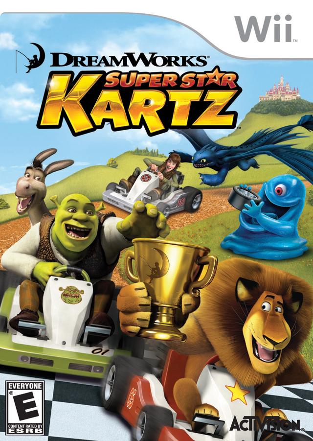 Rom juego Dreamworks Super Star Karts