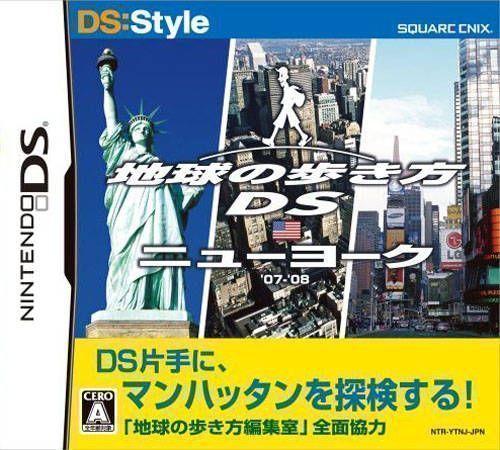 Rom juego DS Style Series - Chikyuu No Arukikata DS - New York