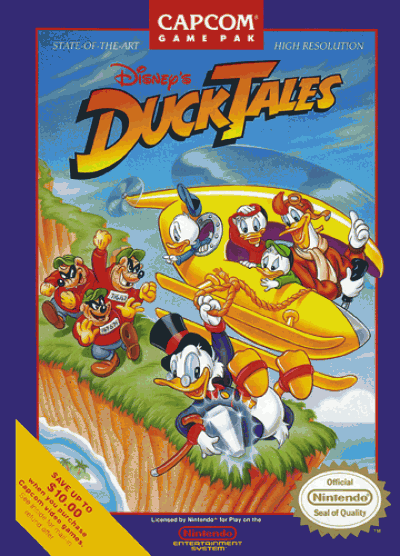 Rom juego Duck Tales
