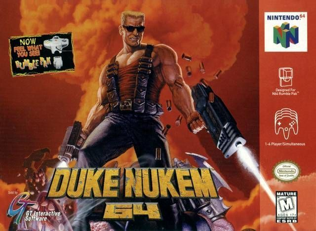 Rom juego Duke Nukem 64