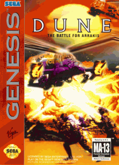 Rom juego Dune - The Battle For Arrakis