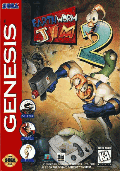 Rom juego Earthworm Jim 2